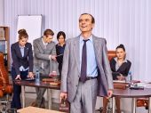 Business people in office. — Stock Photo
