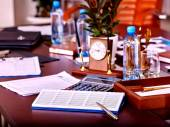Business interior  in office. — Stock Photo