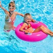 Children  in swimming pool. — Stock Photo #76105491
