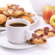 Coffee and cookies — Stock Photo #66022087