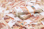 Millions of rubles — Stock Photo