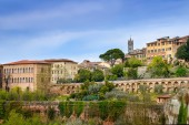 Siena stadsbild — Stockfoto