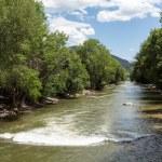 Arkansas River in Colorado — Stock Photo #52302115