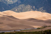 Detail of Great Sand Dunes NP  — Stock Photo