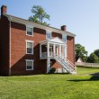 Rear view of McLean House at Appomattox — Stock Photo #52899267