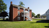 Rear view of McLean House at Appomattox  — Stock Photo