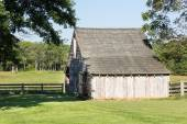 Meeks Stable at Appomattox park — Stock Photo