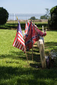 Confederate Cemetery at Appomattox National Park — Stock Photo