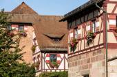 Kaiserburg Castle in Nuremberg — Stock Photo