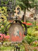 St Peter Cemetery Salzburg — Stock Photo