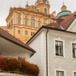 Exterior of Melk Abbey in Austria — Stock Photo #61430627