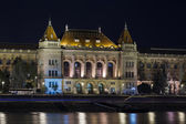 University at night in Budapest — Stock Photo