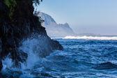 Headland of Hanalei on island of Kauai — Stock Photo