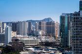 New construction of condos in Waikiki — Stock Photo