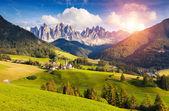 Unusual mountain landscape — Stock Photo