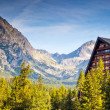Hotel in the mountains — Stock Photo #68196739
