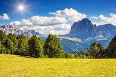 Magical mountain landscape — Stock Photo