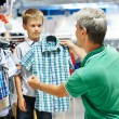 Man and boy shopping clothes — Stock Photo #51837783