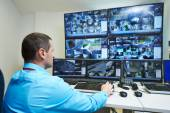 Security video surveillance — Stockfoto