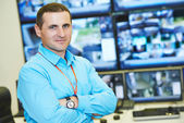 Security video surveillance chief — Foto de Stock