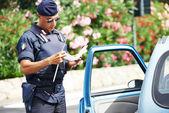 Carabineros de la policía italiana — Foto de Stock