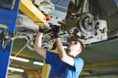 Auto mechanic working — Stock Photo