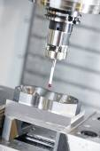 Industrial Metrology tool work — Stock Photo