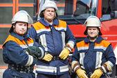 Firefighter — Stock Photo