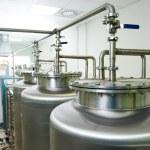 制药水处理系统 — 图库照片