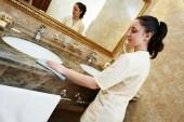 Hotel service — Stock Photo
