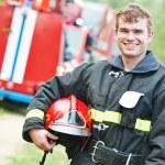 Firefighter fireman — Stock Photo #52491107