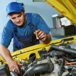 Auto mechanic repairman at work — Stock Photo #52491255