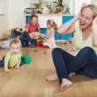 Parenting and family difficulties — Stock Photo #52834165