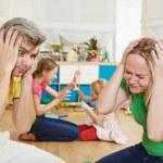 Confusion in children breeding — Stock Photo #52834245