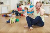 Parenting and family difficulties — Stock Photo