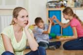 Parenting and family problem — Stock Photo