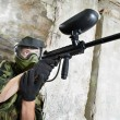 Paintball player — Stock Photo #53550207