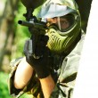 jugador de paintball — Foto de Stock