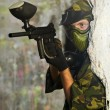paintball speler — Stockfoto #53550433