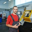 Industrial worker at tool workshop — Stock Photo #53556631