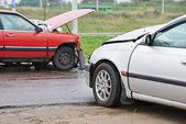 Car crash collision — Stock Photo