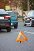 Automobile car crash collision — Photo