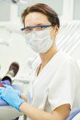 Dentist doctor portrait — Stock Photo