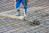 Concrete work — Stock Photo