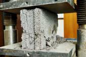 Concrete quality test — Stock Photo