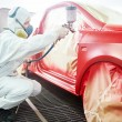 Car painting technology — Stock Photo #65475267