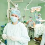Surgeons team at cardiac surgery operation — Stock Photo #65724973