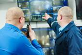 Security video surveillance — Stock Photo