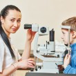 Ophthalmologist or optometrist worker — Stock Photo #67411803