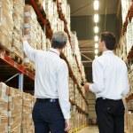 Warehouse crew at work — Stock Photo #67747349